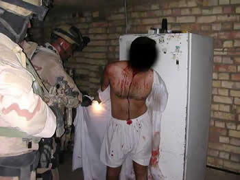 US Navy Seals torturing an Iraqi civilian
