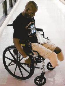 Wounded Iraq war vet