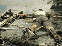 Dead body in New Orleans