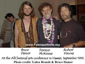 Bruce Damer, Terence McKenna, and Robert Venosa