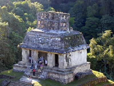 Temple of Sun,  Palenque Ruin, Chiapas, Mexico